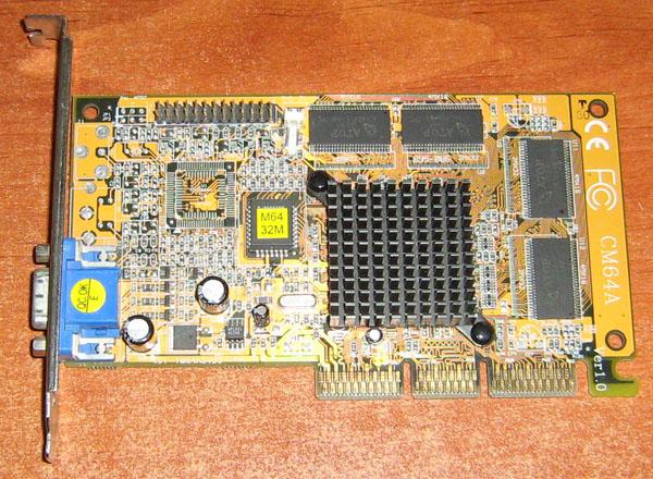 Видеокарта palit geforce2/mx400 agp4x/2x 64mb sdram 128bit nofan d-sub oem б/у